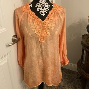 Pretty fall tunic